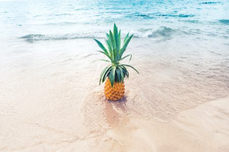 a yellow pineapple to represent content marketing simplified